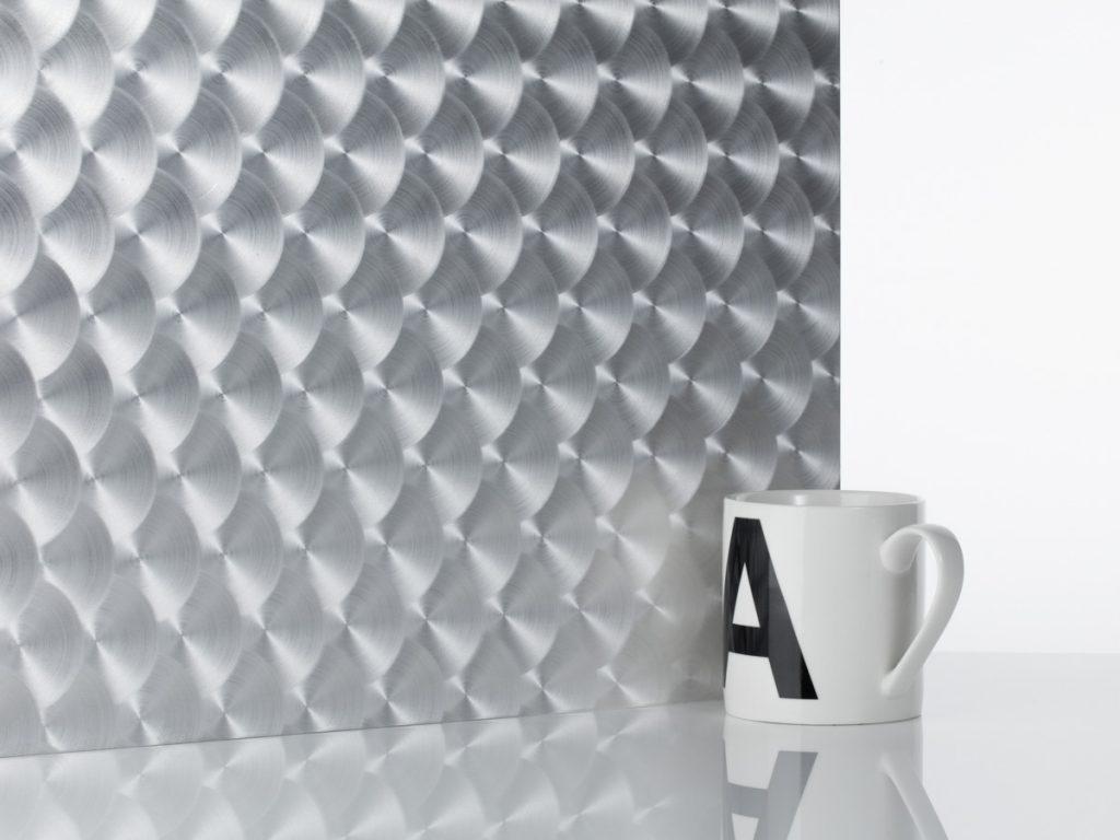 patterened aluminium sheet