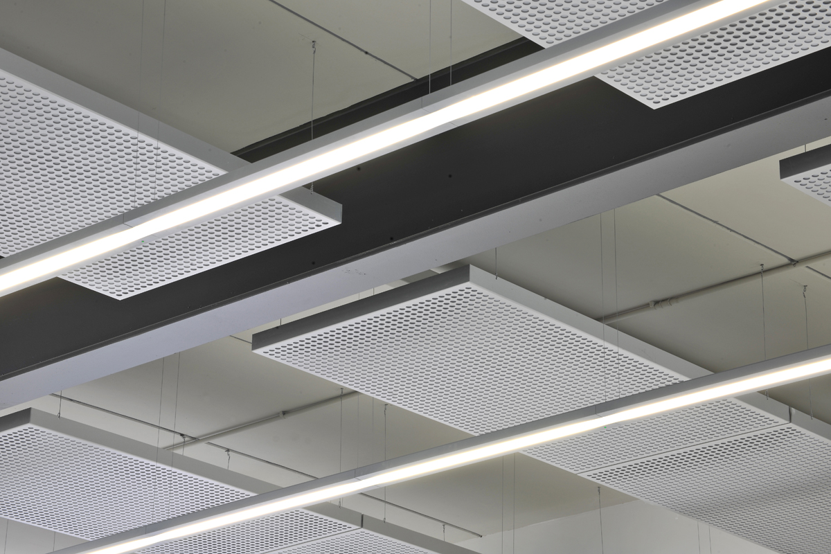suspended perforated aluminium ceiling trays archives - aluminium