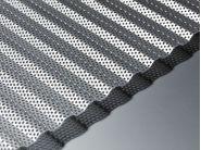 corrugated perforated aluminium sheet