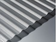 corrugated sheet perforated aluminium