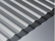 corrugated sheet perforated aluminium