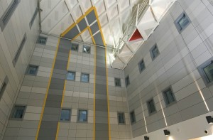 Interior Wall Cladding: Perforated Sheet (BP Norge)