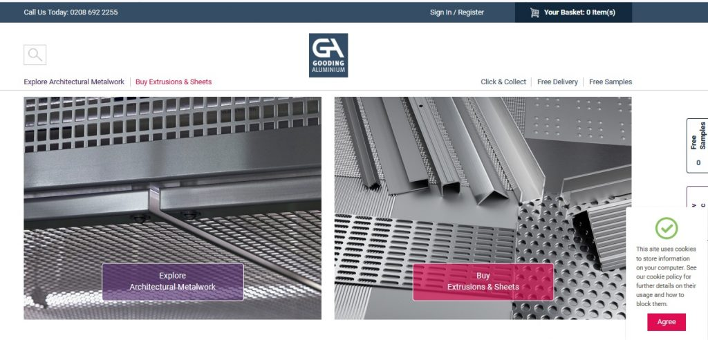 High quality aluminium products