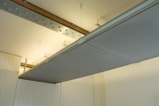 Perforated Aluminium Ceiling Trays