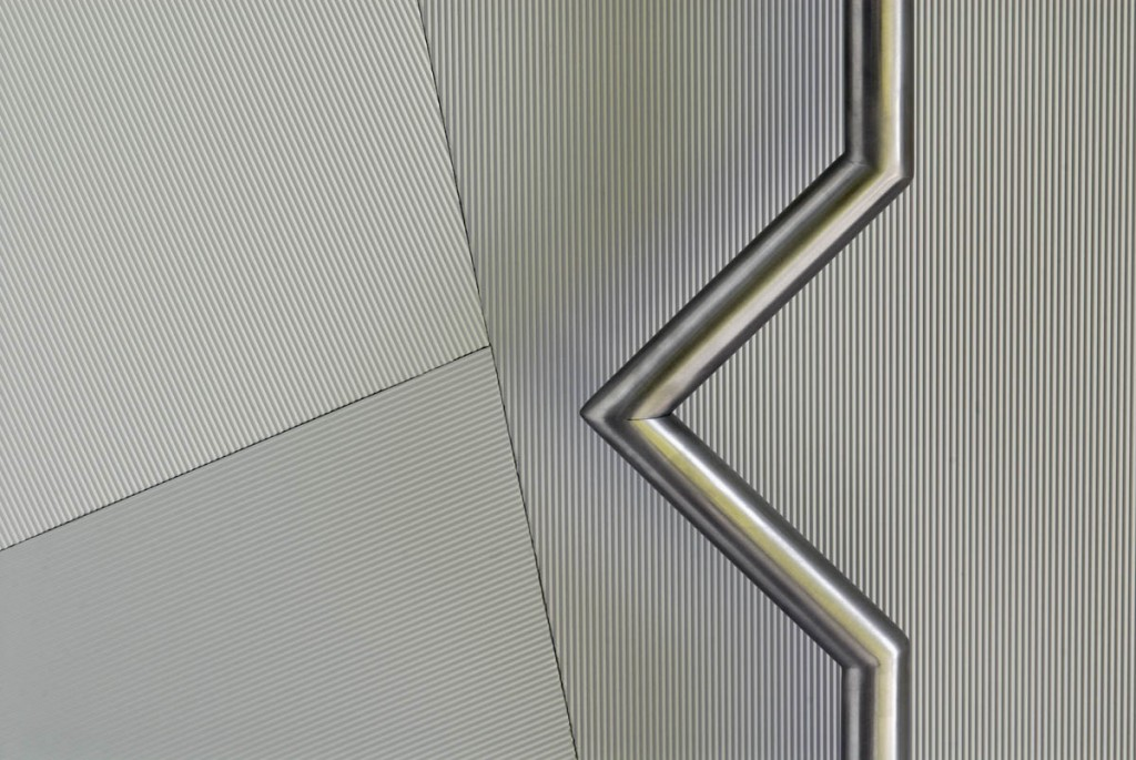 Patterned aluminium sheet