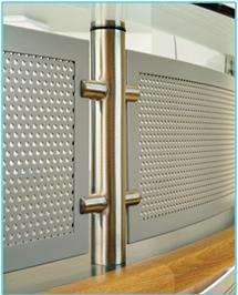 Squeeze Frame Aluminium Panels