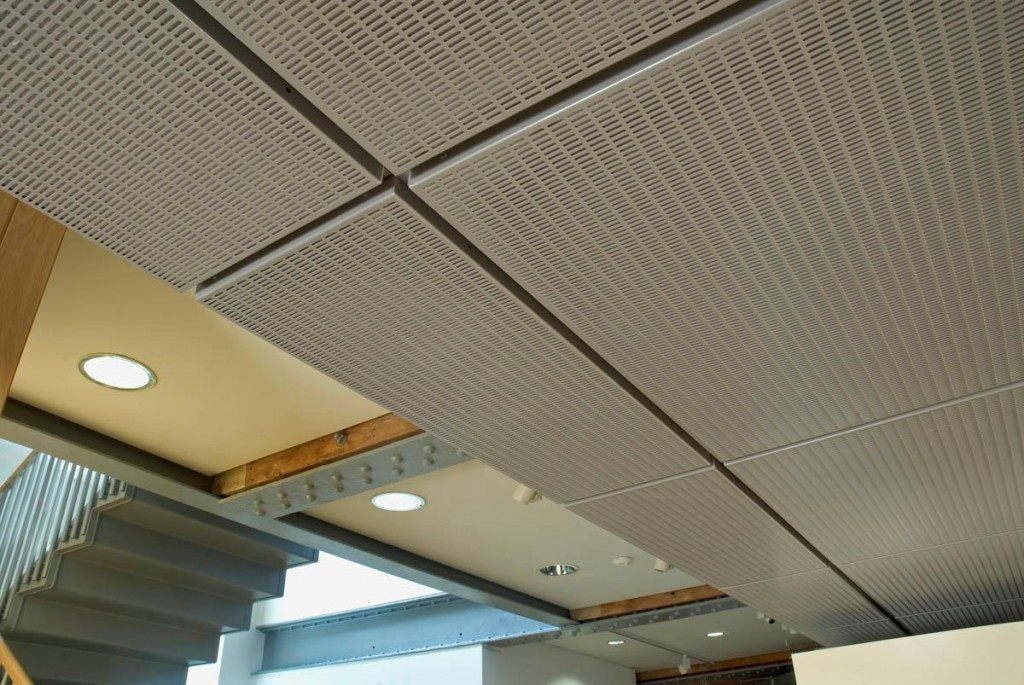 perforated aluminium ceiling trays