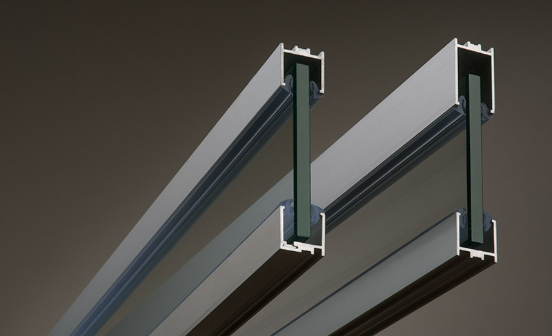 aluminium glazing channel