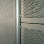 Balustrade Panels in Perforated Aluminium