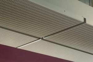 Aluminium ceiling trays