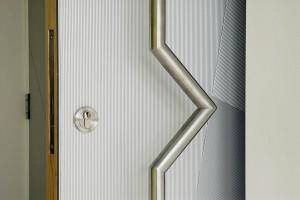 Anodised Door Plate: Solihull School