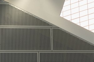 Perforated & Anodised Wall Cladding: Pimlico Academy