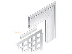 Aluminium Framing: GA Posi-Grip 'Instant Access'