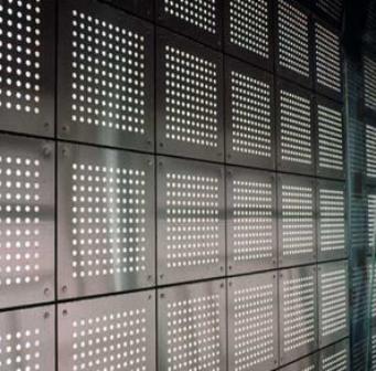 perforated aluminium
