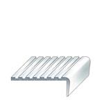 Aluminium single piece stair trims