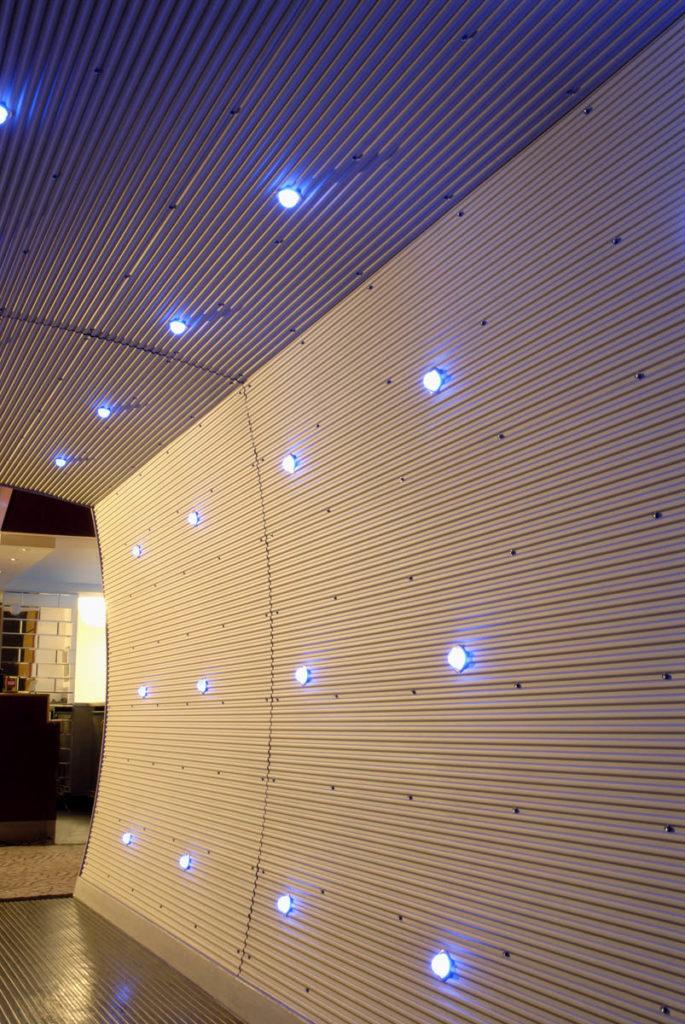 Low Profile Corrugated Sheet Cladding - Bespoke Solutions
