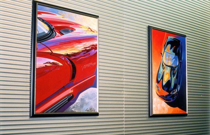 Corrugated Sheet - Detroit Motor Show - 1
