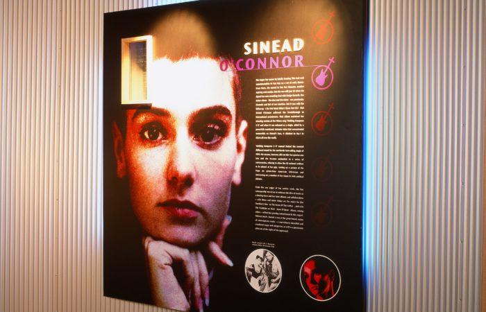 Corrugated Sheet - Irish Music Hall of Fame - 1