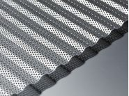 corrugated perforated aluminium sheet