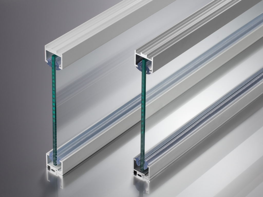 glazing channels