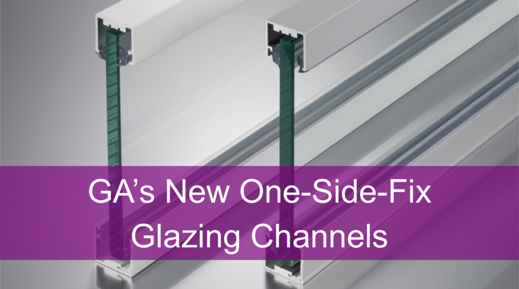 Glazing Channels- One Side Fix