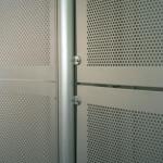 Balustrade Panels in Perforated Aluminium
