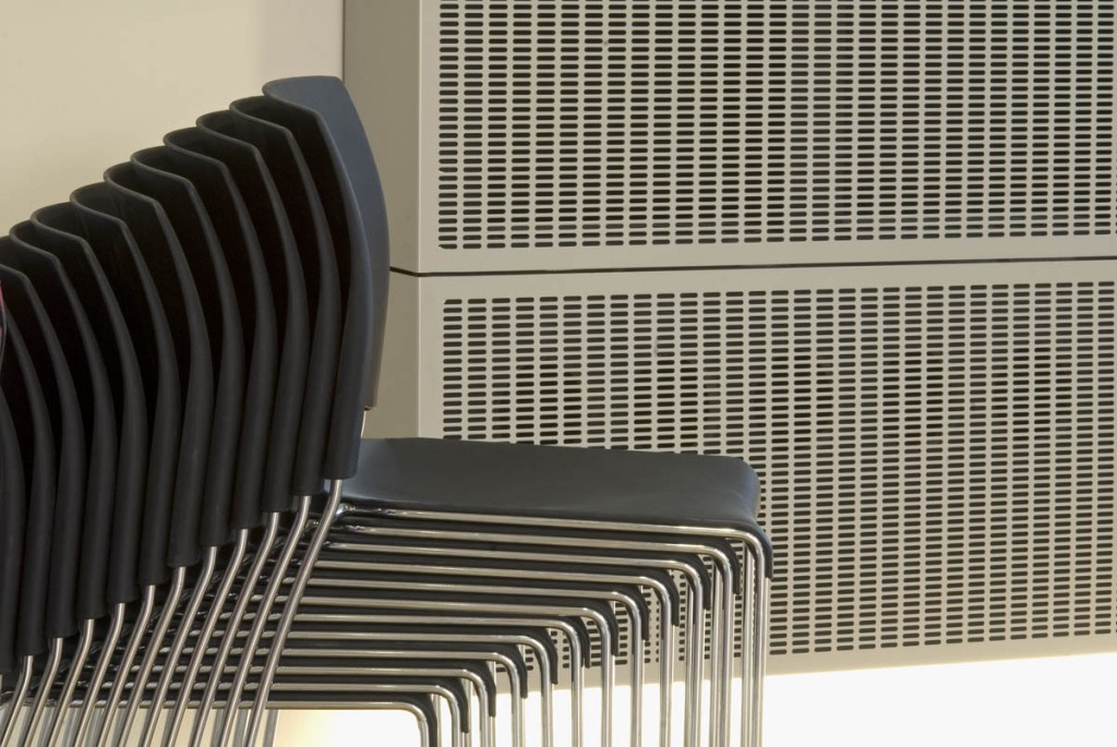 Perforated Aluminium Wall Cladding Panels