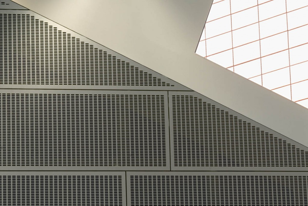 GA Ano-Sil Anodised finished panels'