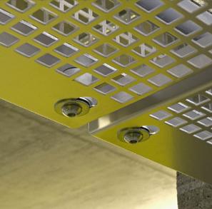 perforated aluminium Ceiling Panels